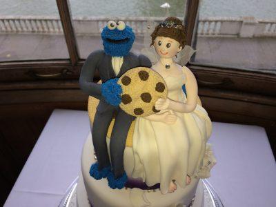 Wedding String Quartet cake toppers
